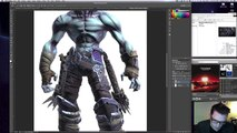 UI Concept: Darksiders II for iPad - by Xander Davis (UI Designer, Darksiders II)