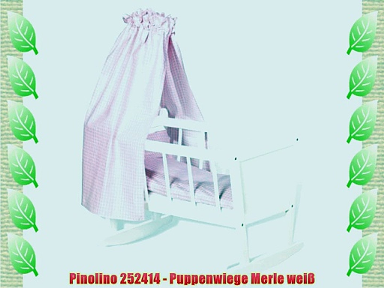 Folie wei/ß 2-Keil-Wickelmulde Pinolino 72100-0
