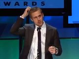 Ryan Gosling introduces Dustin Hoffman at the Hollywood Film Awards