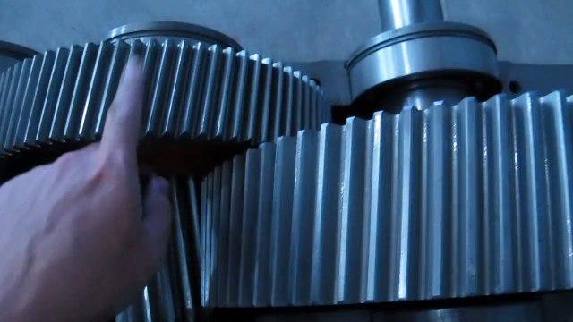 Hop so banh rang  hinh tru ZQ 2 cấp_ Hộp số bánh răng hình trụ ZQ 2 cấp.