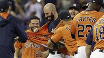 Mike Fiers Throws First Career No-Hitter