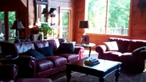 Smoky Mountain Luxury Log Cabin: Timberstone near Gatlinburg Pigeon Forge Tennessee