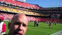 NFL Behind The Scenes- Redskins Gameday