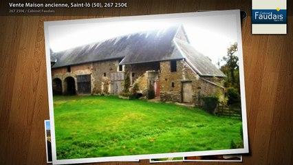 Vente Maison ancienne, Saint-lô (50), 267 250€