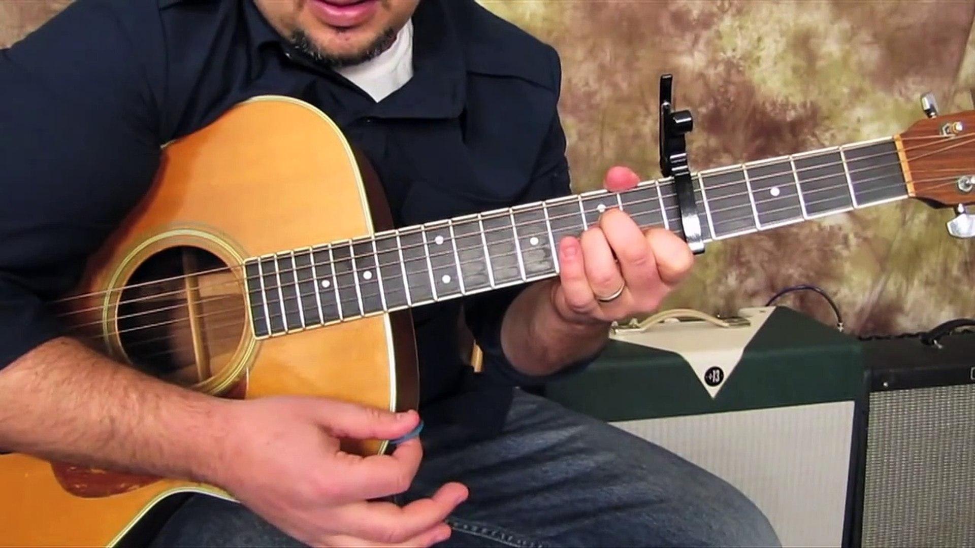Bruno Mars - Grenade - How to Play on Guitar - Easy Beginner Acoustic Guitar Songs