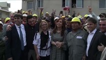 03 de JUN. Cristina Fernández visitó el Predio del Desarrollo Urbanístico Maipú del Plan PROCREAR