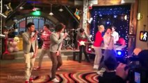 Novo episódio - One Direction no ICarly!   Behind the scenes of One Direction on ICarly