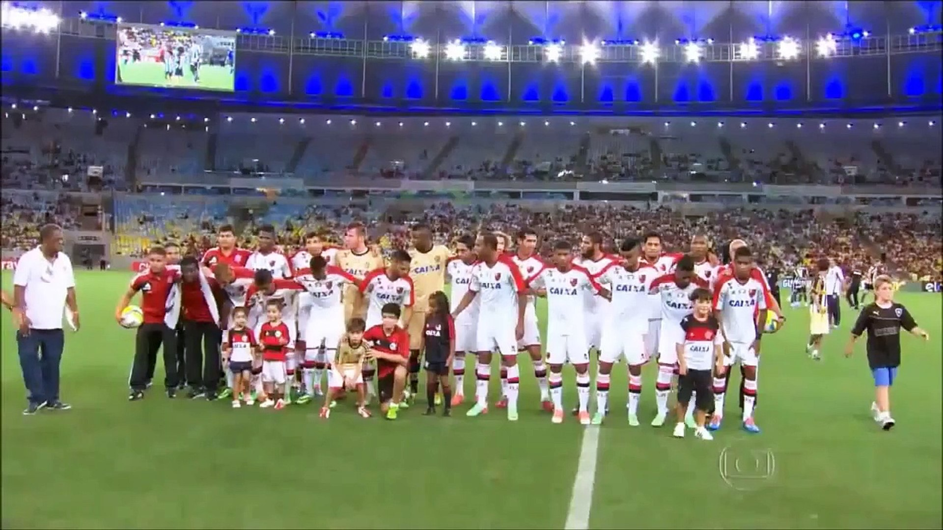 Flamengo Campeão da Taça Guanabara (Carioca) 2014 - Globoesporte