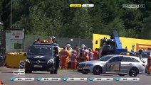 De Jong Huge Crash 2015 GP2 Spa Race 1