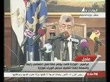مؤتمر صحفي لوزير الداخلية بعد فض اعتصامي رابعة والنهضة  14-8-2013
