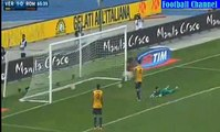 Goal Florenzi - Hellas Verona vs AS Roma 1-1