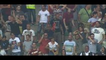 Goal Alessandro Florenzi - Hellas Verona 1-1 AS Roma - 22-08-2015