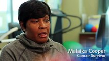 Cancer Survivor Malaika Cooper - Mercy Cancer Care   Cancer Treatment, Personalized Care