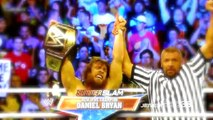 WWE Summerslam 2013 - Randy Orton cashes in Money in a Bank Contract
