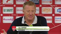 Réaction d'Alex Dupont après Stade Brestois 29 - AC Ajaccio