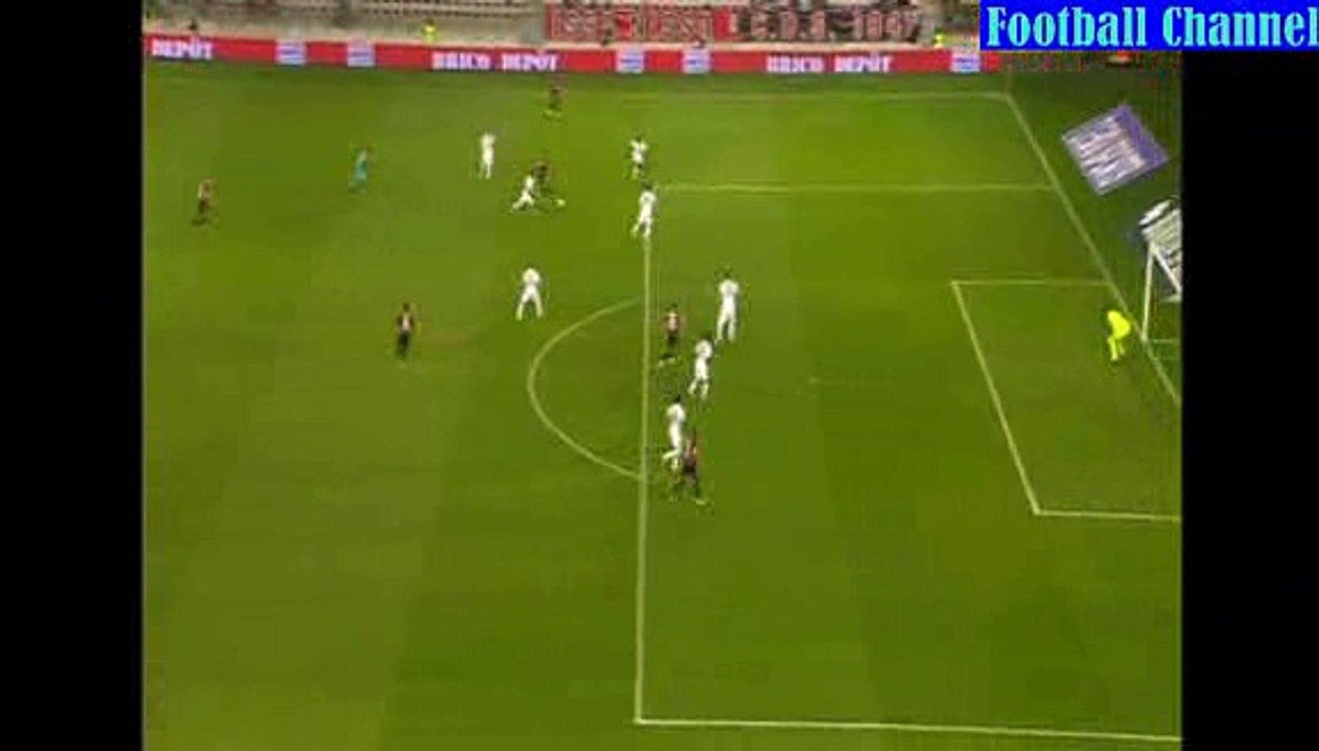 Goal Hatem Ben Arfa - Nice 1-0 Caen - Ligue1 22.08.2015