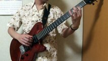 『ハッピーバースディ』をマイナーキーで弾いてみた Happy Birthday in D minor Key (Guitar Solo)