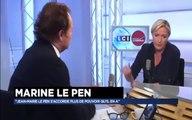 Marine Le Pen & L'invitée de Guillaume Durand sur Radio Classique Lci