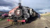 Old Patagonian Express Train