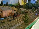 (Layout) TT scale model railway train layout 10