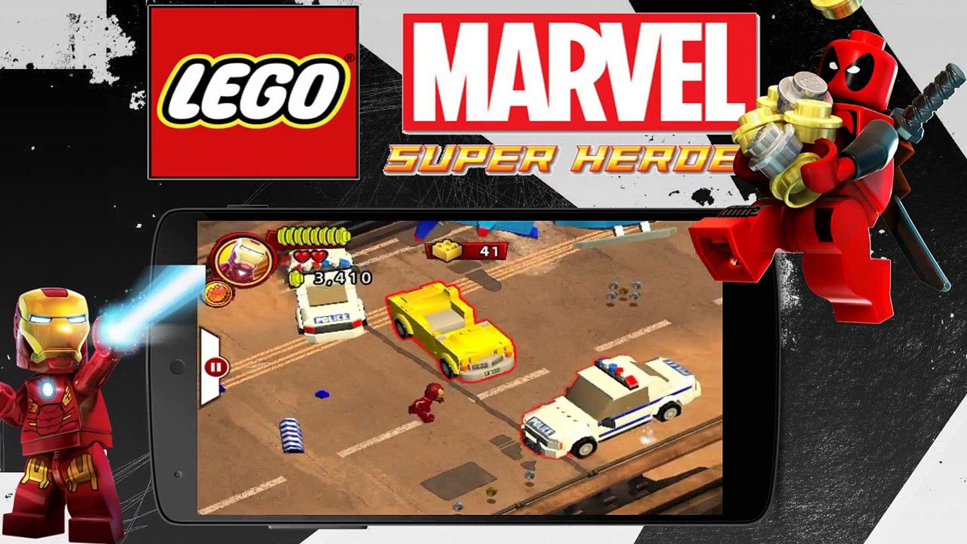 lego marvel super heroes apk mod + data download android
