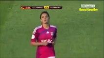شاهد أجمل لاعبة فى كرة القدم النسائية