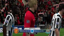 Manchester United vs Newcastle United 0 0  Highlighst Premier League 2015/16