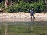 Pêche au saumons sur la Grande Rivière