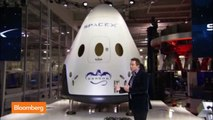 Elon Musk Unveils New SpaceX Reusable Capsule