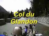 Descente col du Glandon en vélo couché