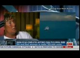 Diana Nyad INTERVIEW after Swimming 103-Miles from Cuba to Florida at Age 64!! - CNN Interview