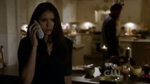 The Vampire Diaries - 2x06 Plan B - Katherine Compelled Jenna To Stab Herself