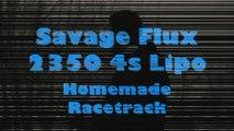 HPI Racing Savage Flux 2350 4S Lipo - Racetrack Run [HD]