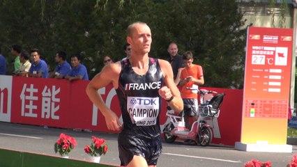 Le 20 km marche de Kevin Campion