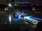 Växjö Lakers 10-års jubileum-Ljusslingor