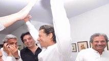 Imran Khan Reaction as NA 122 Result Announced PTI Lahore Pakistan