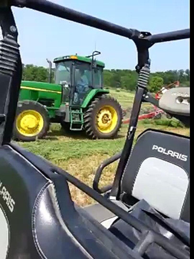 silage baling hay 2013.2nd crop