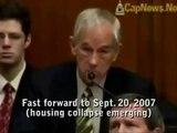 Dès 2001, Ron Paul prédit la crise financière de 2007-2008