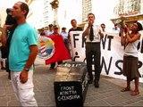 Funeral Procession: Demonstration against Censorship in Malta - Speech by Ingram Bondin PART 2