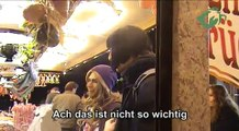 Die Spasteln - Peinliche Transvestiten (street comedy aufm Volksfest)