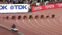 Victoire d'Usain Bolt sur 100m en finale des Championnats du Monde