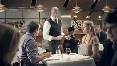 "Meat & Livestock Australia ""couple sharing"" ad – via Mumbrella"