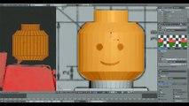 Blender Speed Modeling time lapse Lego | Blender Zeitraffer Lego männchen | NickysChannel13