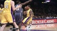 Bobcats -at- Lakers - 2/3/10 - HD Highlights