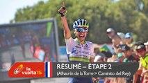 Résumé - Étape 2 (Alhaurín de la Torre / Caminito del Rey) - La Vuelta a España 2015