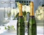 Champagne ! Joyeux anniversaire humour, carte anniversaire animée