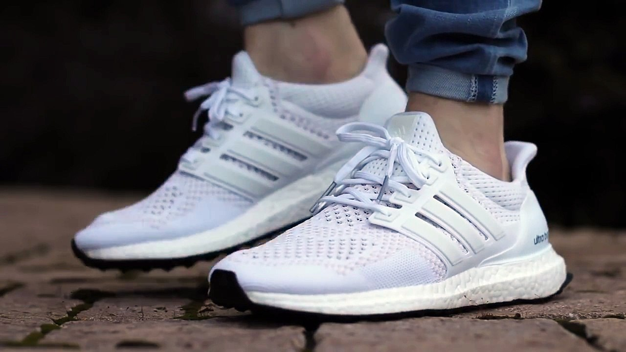 best sneakers ea0e6 5702a ON FEET: Adidas Ultra Boost - White