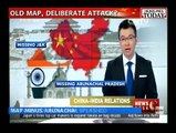 What a Welcome !! China State TV Shows Indian Map without Kashmir & Arunachal Pradesh, Indian media cries..mxdl