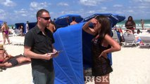 Picking Up Hot Model Girls on The Beach - Best Funny Pranks Gone Sexual - Picking Up Cougars Prank