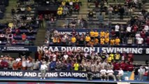 Michigan Swimming = 2013 NCAA Champions:  Final Relay and Hail to the Victors!